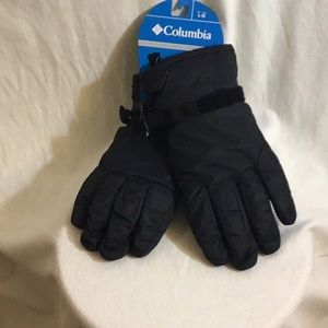 Columbia Mens Core Gloves XM0750-010 Sz Large Blk